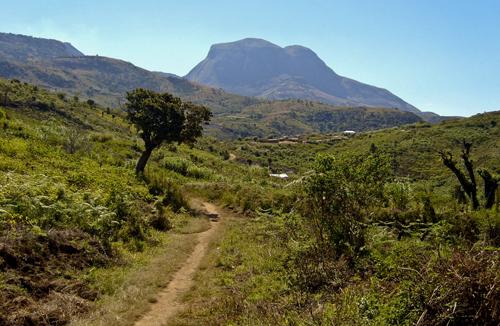 Caminho para o monte Binga