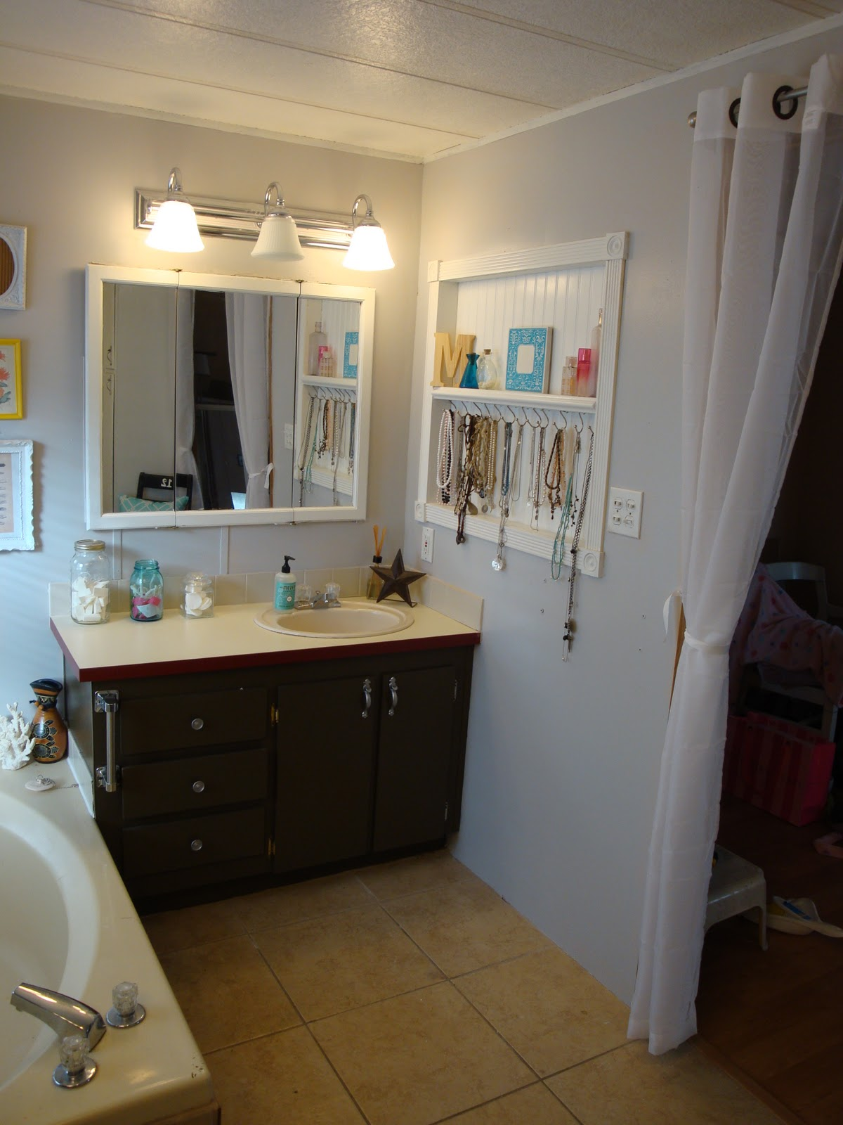 This Messy Business Bathroom Reveal Diy Show Off