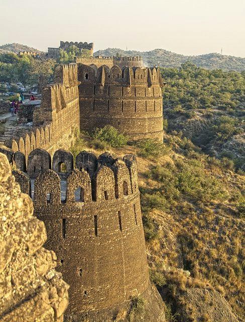 Rohtas Fort in Punjab, Pakistan