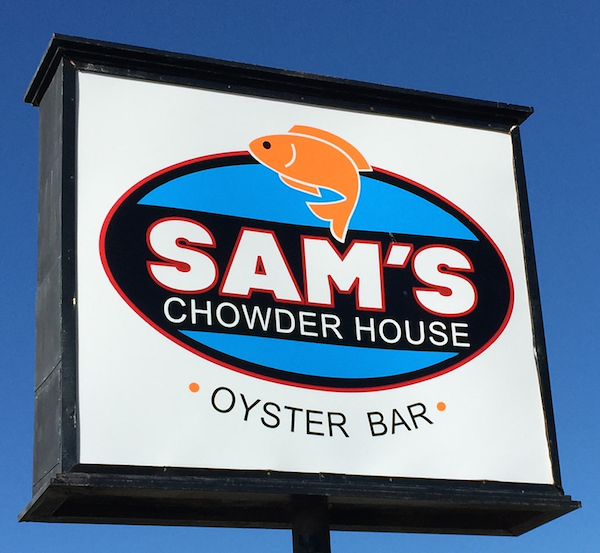 Sam's Chowder House in Half Moon Bay, California