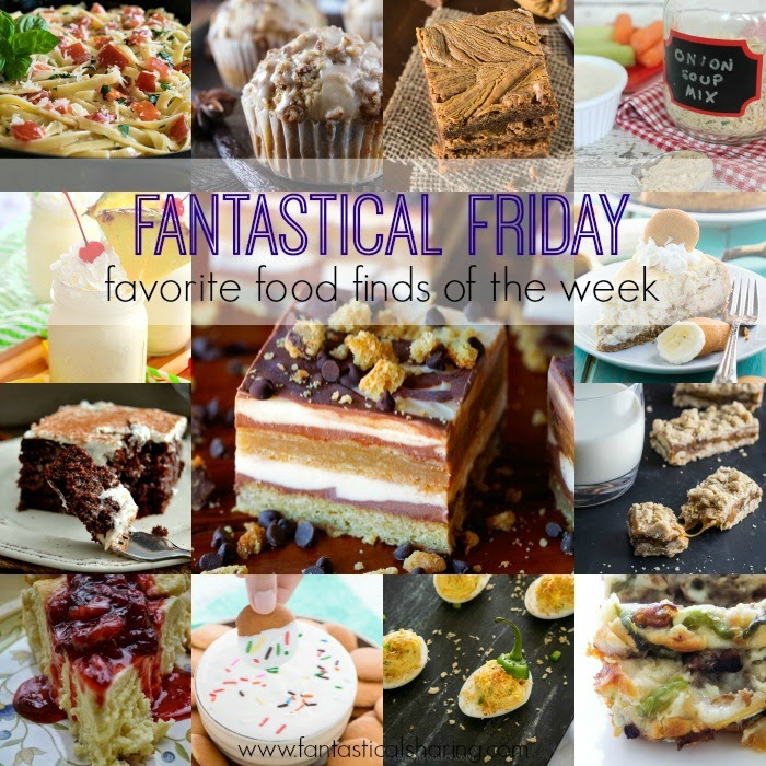 Fantastical Friday | Favorite Food Finds of the Week - including 15 of the best recipes on the web #recipes #collage #collection #roundup #food