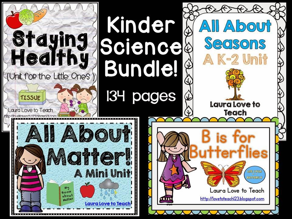http://www.teacherspayteachers.com/Product/Kindergarten-Science-Bundle-1165557