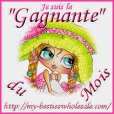 Gagnante chez My Besties en français