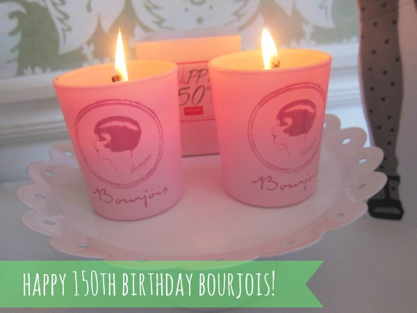 Bourjois 150th anniversary candle