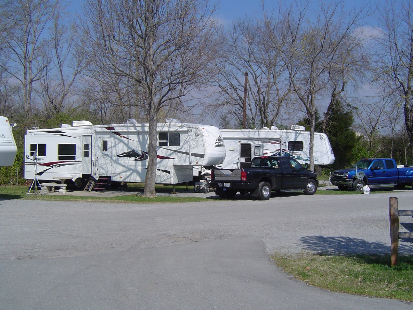 Stories About Our Rv Parking Places Twin Rivers