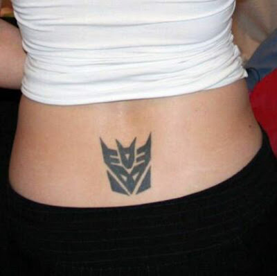 25 creative tramp stamp tattoos damn cool pictures for Tramp stamps tattoos