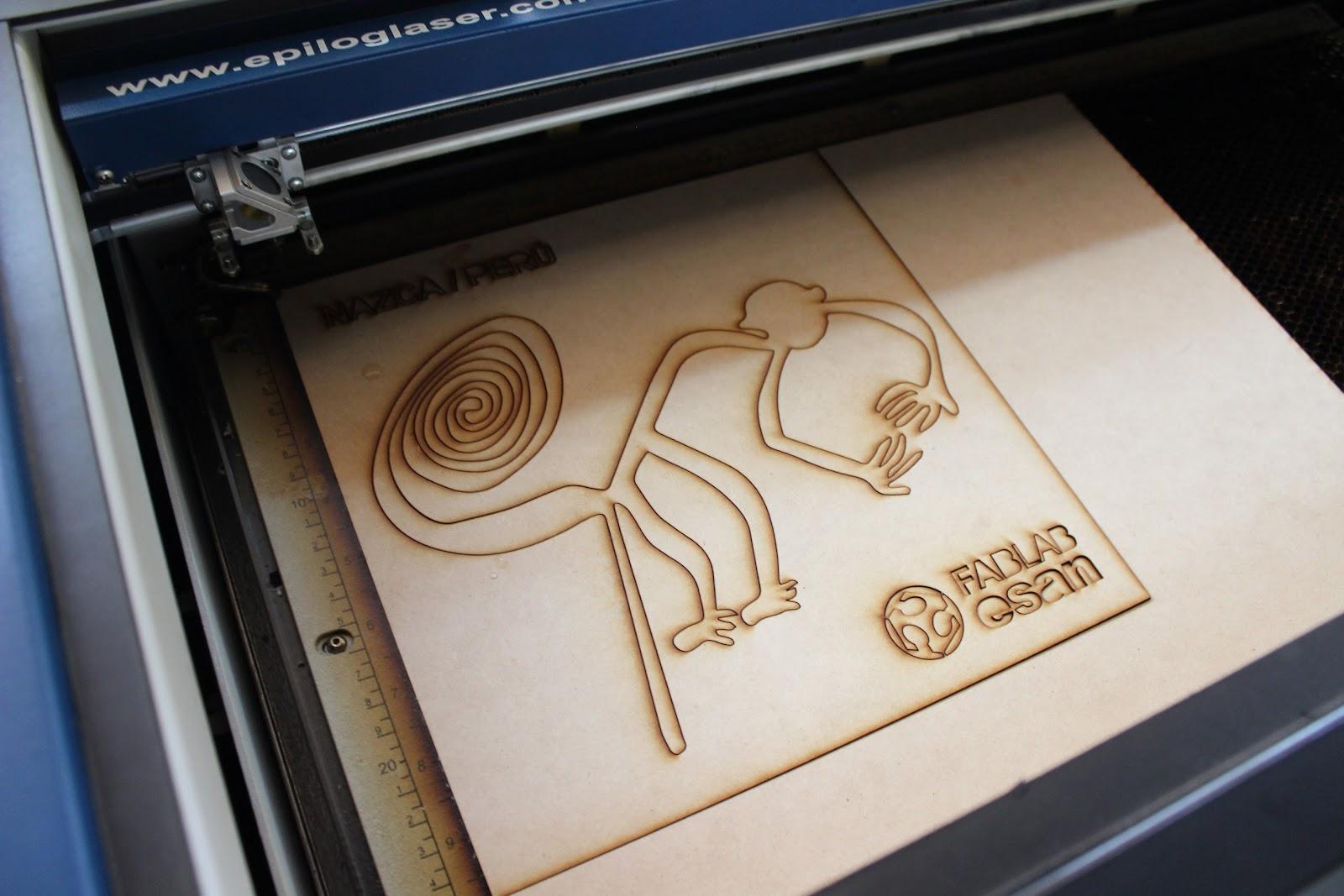 Fab Lab ESAN: Pintura en tela usando plantilla/stencil fabricada con ...