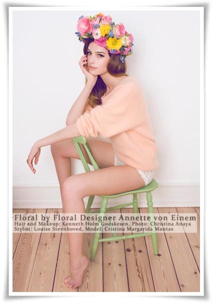 hårkanskar, blomsterkransar, floral headpieces, headpieces flowers, floal halo, halo flowers, blommor 60-talet, flowers 60s, flowers lana del eay, blommor lana del ray