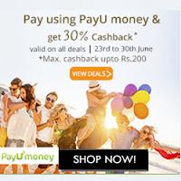 Groupon: Get extra 30% off using PayUMoney as Payment method