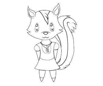 #12 Animal Crossing Coloring Page