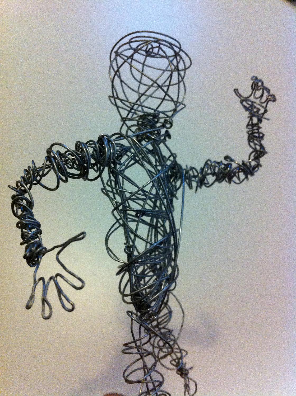 Amy Shillitoe Art and design Level 3 : 3d wire sculpture research