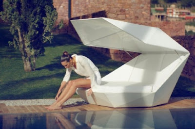 Outdoor Daybed with Modern Style for Relax 7