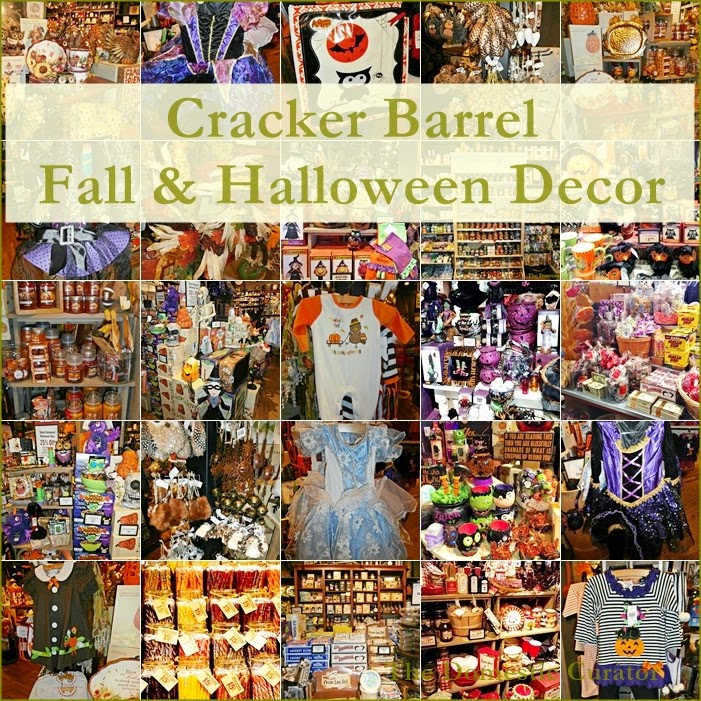 the domestic curator cracker barrel fall halloween decor - Cracker Barrel Store Christmas Decorations