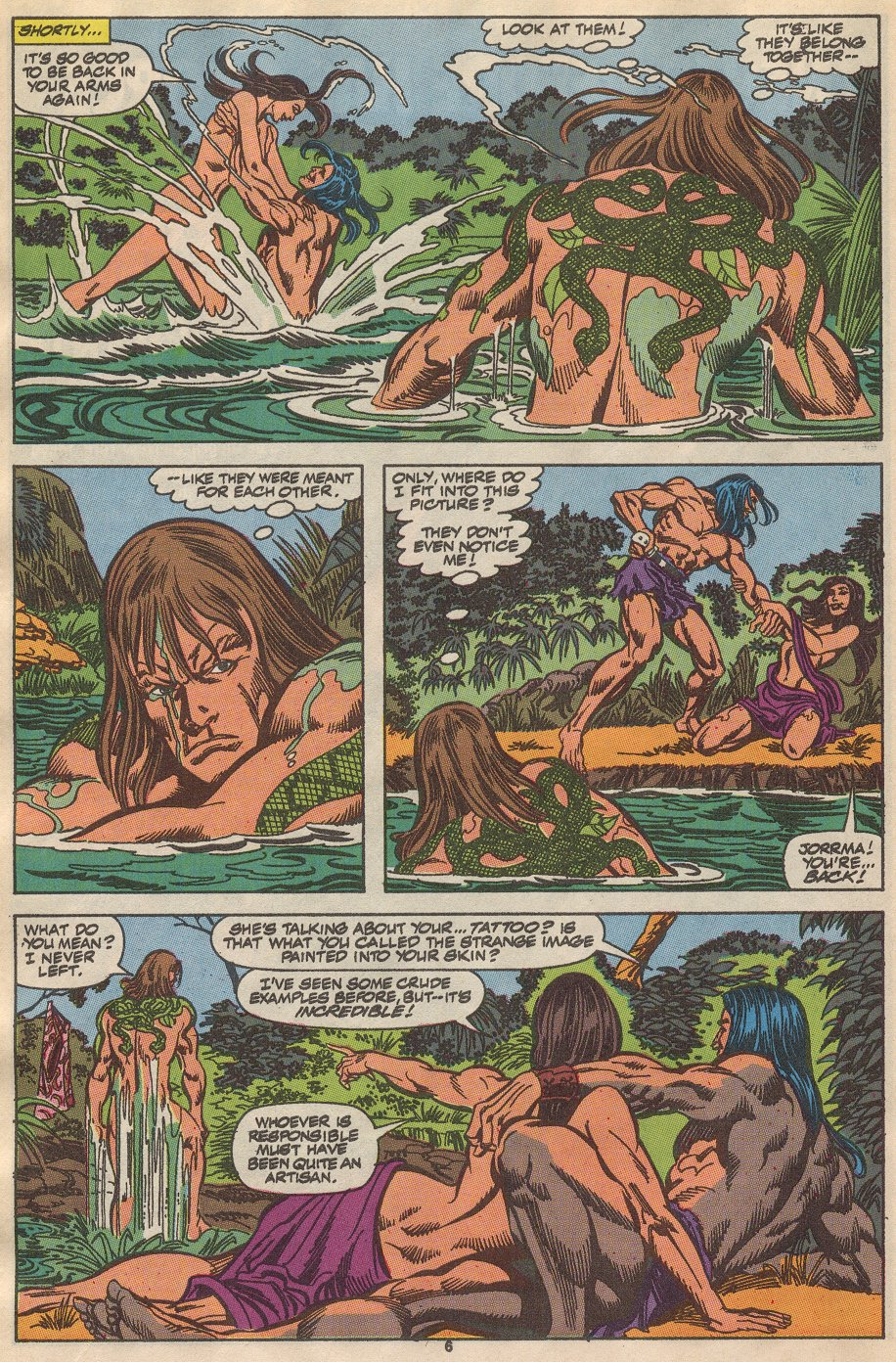 Conan the Barbarian (1970) Issue #237 #249 - English 6