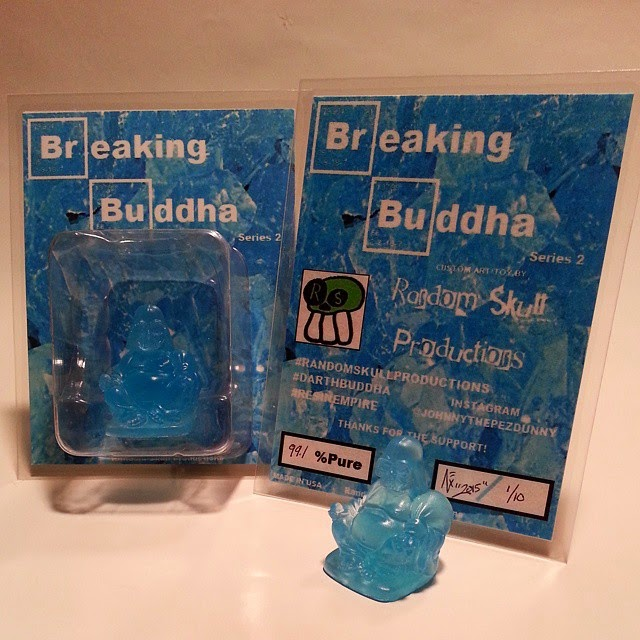"""Breaking Buddha"" Darth Buddha Resin Figures by Random Skull Productions"