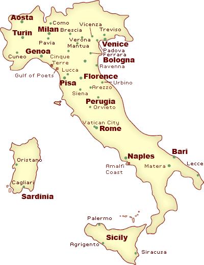 italia-orase-harta