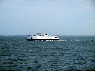 The ferry to Martha's Vineyard from Wood's Hole to Vineyard Haven