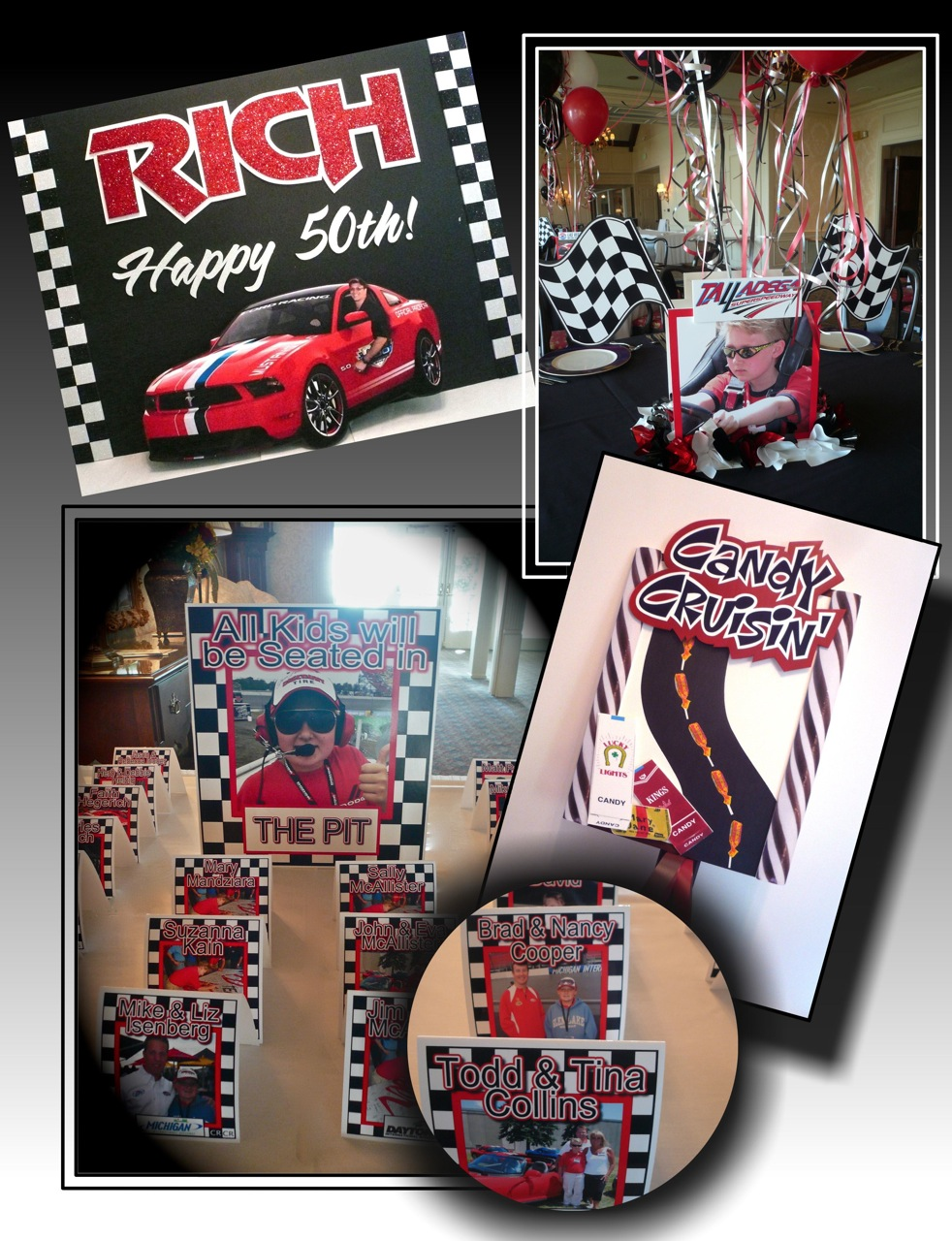 car decorations race decor birthday us party instadecor racing
