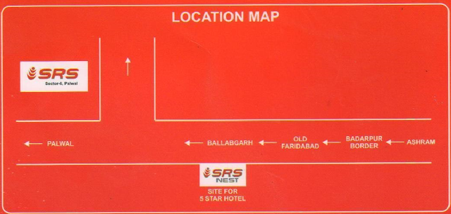 SRS Affordable Location Map