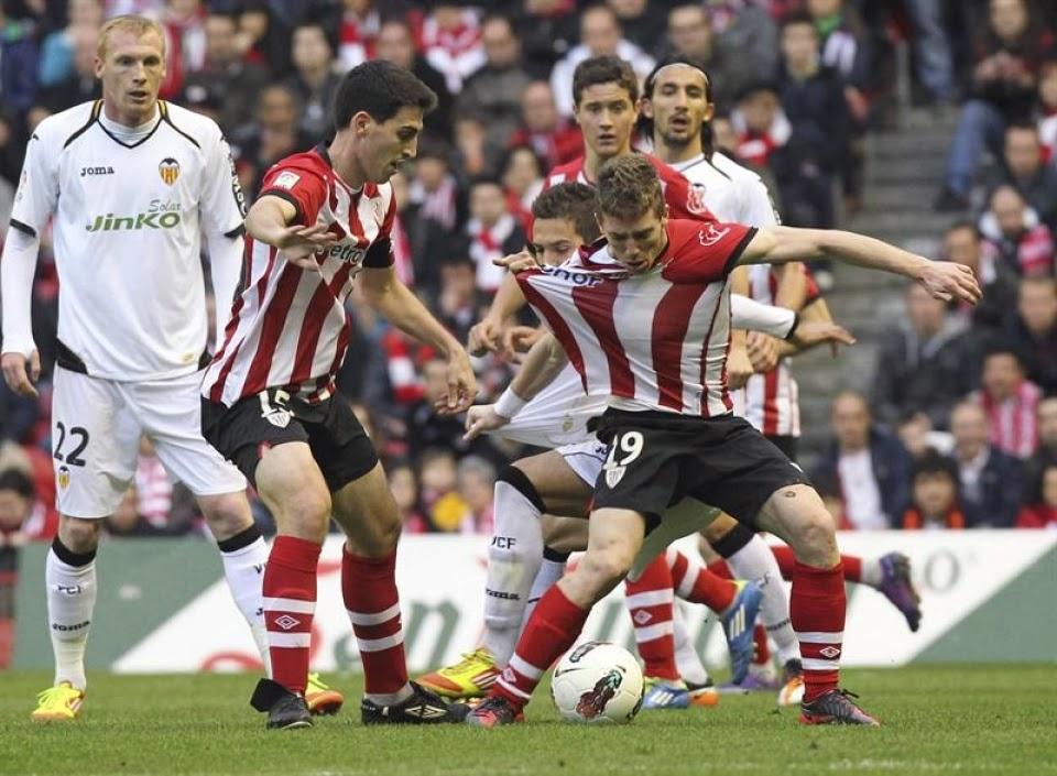 Athletic Bilbao Valencia Muniain Herrera Iraola Mathieu