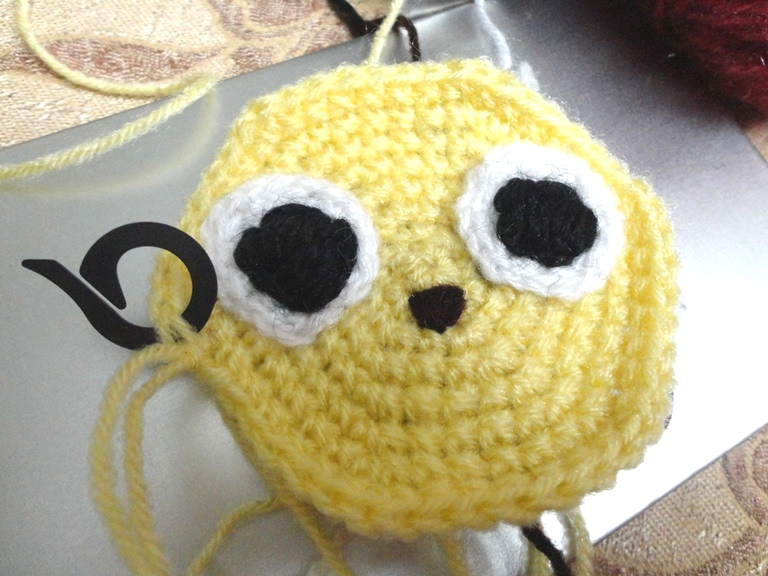 Amigurumi Face Stitch : Cultures Chord by Hindustanka: From Small to Big - Crochet