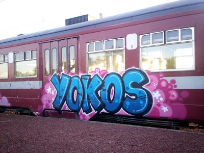 graffiti yokos