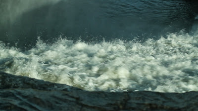 Close Up of Rapids Alt Angle