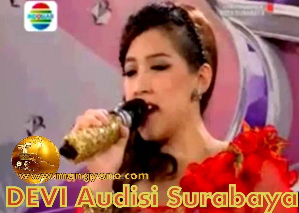 DEVI Audisi Surabaya D'Academy 2 Peraih Golden Tiket