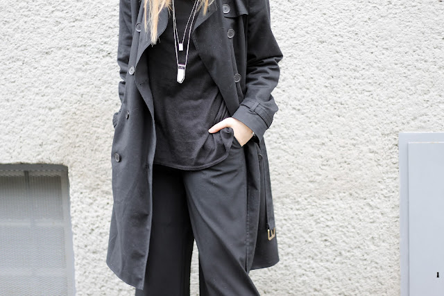 black layering fashion