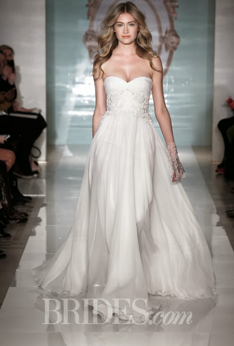 2015 Sweetheart Wedding Dress by Reem Acra, Spring 2015