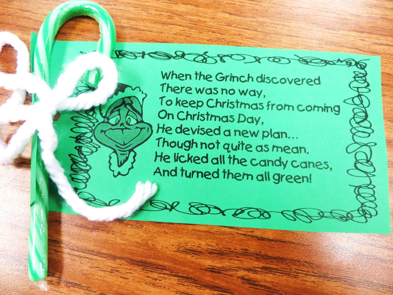 First Grade Wow: Grinch Alert II and Reindeer Races