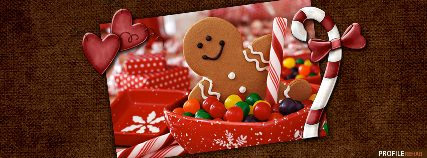 Gingerbread Man Christmas Cover Photo