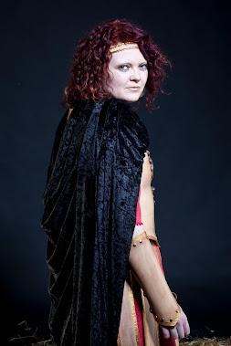 Female Gladiator Back