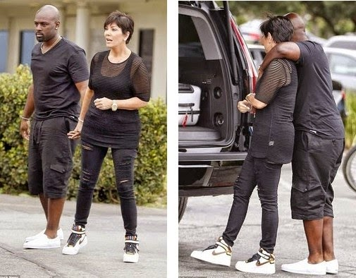 kris jenner dating black man