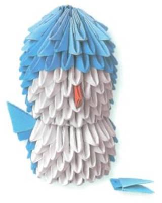 8)Сделайте крылышки, каждое из