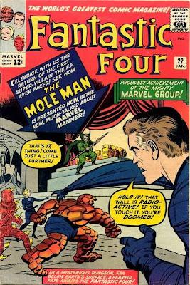 Fantastic Four #22, The Mole Man