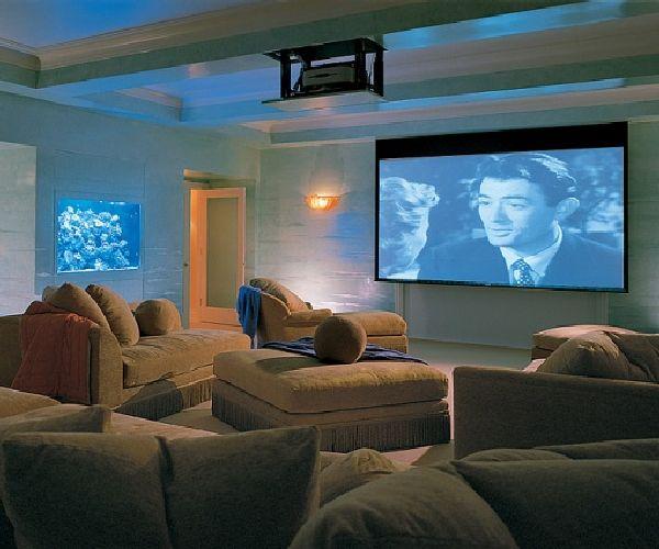 Mariah Carey Home Theater Apartment Design