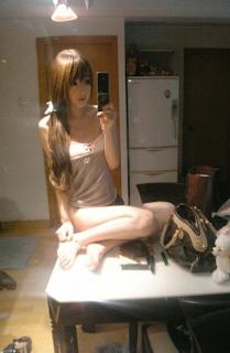 La estudiante China Wang Jiayun se hace famosa en Corea.