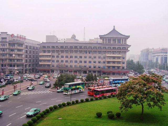 Xian traffic