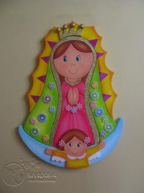 DECORACION VIRGEN DE GUADALUPE FIESTAS INFANTILES | Decoracion ...