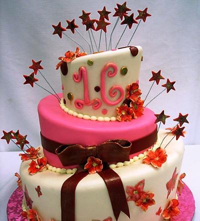 16 year old birthday cake ideas