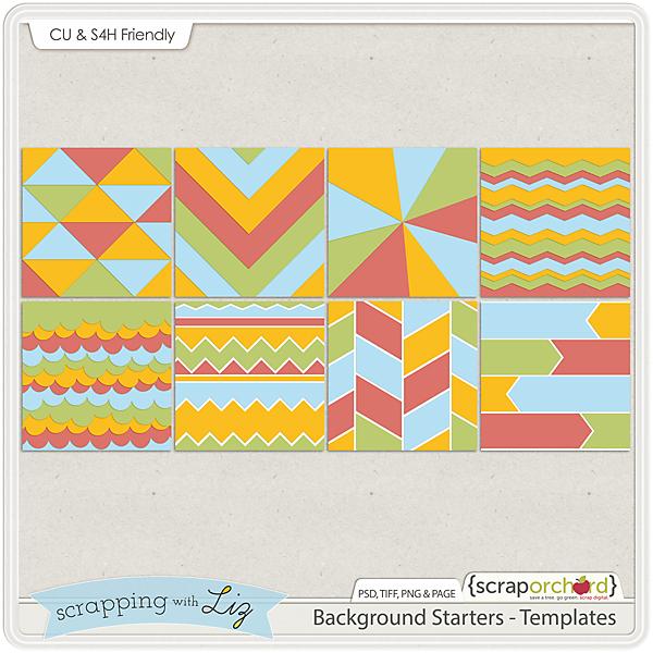 http://scraporchard.com/market/Background-Starter-Digital-Scrabook-Templates.html