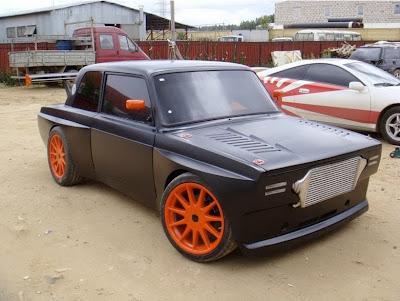 GAMBAR FIAT 124 MODIFIKASI SUPER EKSTRIM