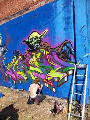 graffiti - Park Spoor Noord