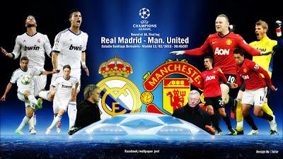 مشاهدة مباراة ريال مدريد ومانشستر يونايتد اليوم 13/2/2013 بث مباشر عصام الشوالى