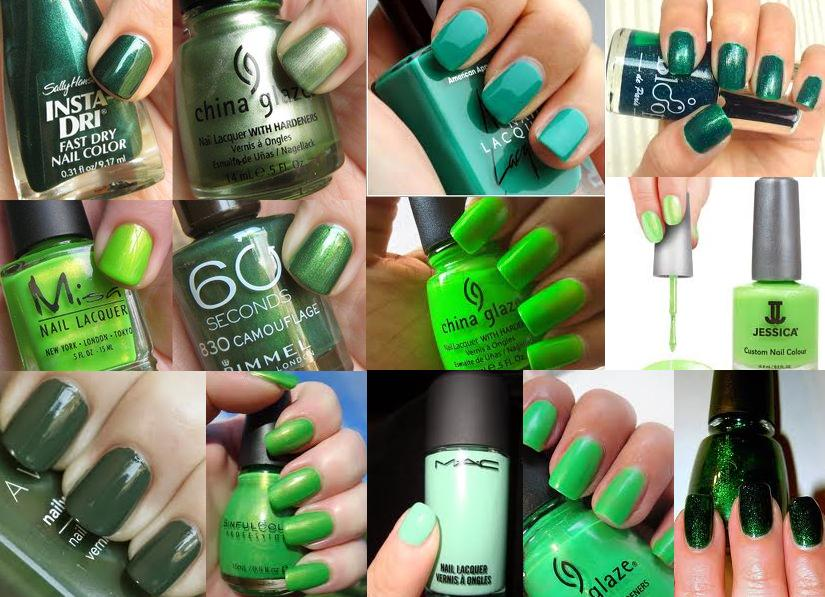 nail-paint-Green-nail-colour-Green-nail-enamel-summer-nail-polish-nail