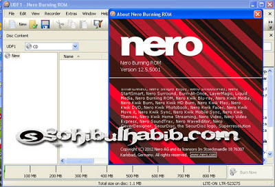 Nero Burning Room 12.5.01900 Full Serial
