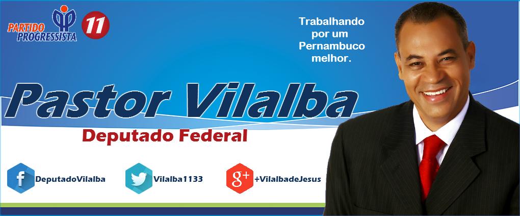 DEPUTADO FEDERAL PASTOR VILALBA - 1133 - PP/PE