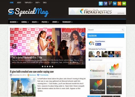 SpecialMag WordPress Theme