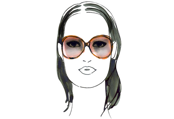 Glasses Frames On Face Shape : Working Wives & Bachelorettes: The Best Sunglasses for ...